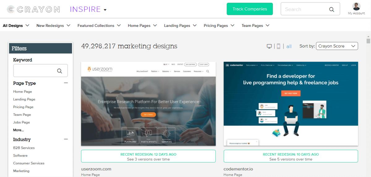 Website Terbaik Yang Dapat Menjadi Inspirasi Desain Web